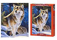 Детские пазлы «Волк», С-104062, купить