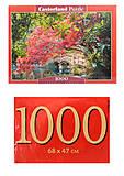 Пазлы Castorland 1000 «Японский сад», С-103768