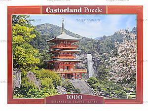Пазлы Castorland на 1000 деталей «Япония», С-103201, фото