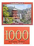 Пазлы Castorland на 1000 деталей «Япония», С-103201, купить