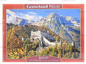 Пазл Castorland на 1000 деталей «Замок Хоэнверфен. Австрия», С-103454, фото