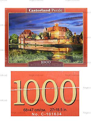 Пазл Castorland на 1000 деталей «Замок Мальборк. Польша», 3010