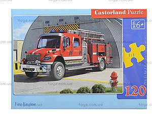 Пазл на 120 деталей MIDI «Пожарная машина», B-12527, отзывы