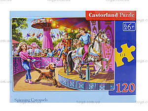 Пазл Castorland 120 midi «Карусель», 13135, фото