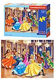 Пазлы на 120 деталей «Принцессы», B-13449, фото