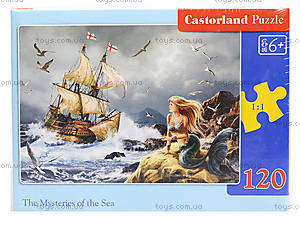 Пазл Castorland 120 midi «Тайны моря», В-13166, фото