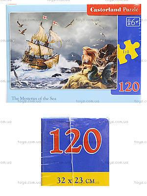 Пазл Castorland 120 midi «Тайны моря», В-13166