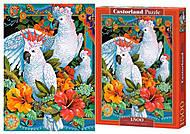 Пазлы «Белые попугаи», С-151714