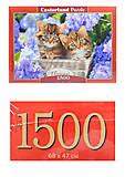 Пазлы Castorland 1500 «Милые котята», С-151561, купить