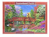 Пазлы Castorland 1500 «Озеро Фуджи», С-151608
