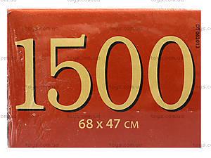 Пазл Castorland на 1500 деталей «Девушка и розы», 1233, отзывы