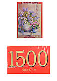 Кастор пазлы 1500 «Сирень», С-151653, фото