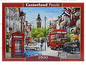 Пазл Castorland на 1500 деталей «Улицы Лондона», С-151271, отзывы