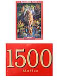 Кастор пазлы 1500 «Волк», С-151707