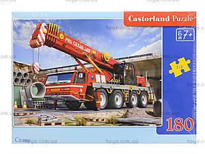 Пазл Castorland на 180 деталей «Кран», В-018147, фото