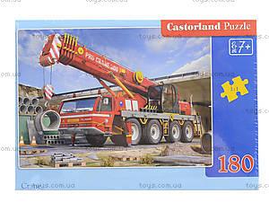 Пазл Castorland на 180 деталей «Кран», В-018147, цена