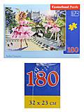 Пазл Castorland на 180 деталей «Балерины», В-018222