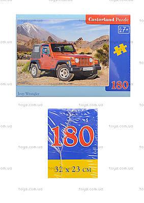 Пазл Castorland на 180 деталей «Джип», В-018017