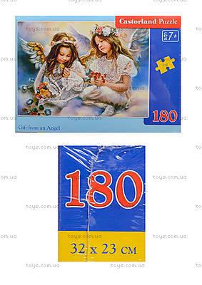 Пазл Castorland на 180 деталей «Два Ангела», В-018215