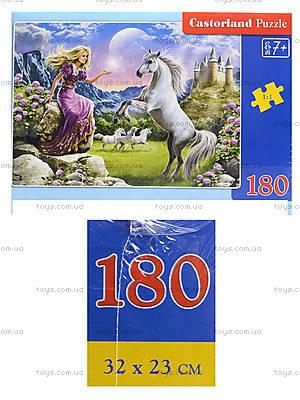 Пазл Castorland на 180 деталей «Великолепный единорог», 024
