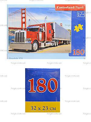 Пазл Castorland на 180 деталей «Грузовик», В-018130