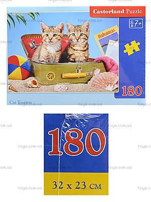 Пазл Castorland на 180 деталей «Котята», В-018086