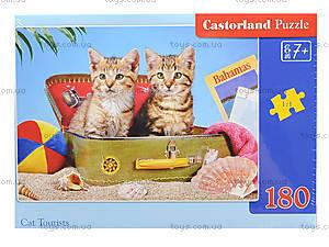 Пазл Castorland на 180 деталей «Котята», В-018086, фото