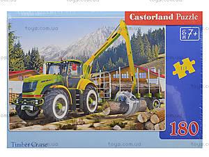 Пазл Castorland на 180 деталей «Лесовоз», В-018055, фото