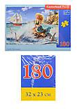 Пазл Castorland на 180 деталей «Русалочка», В-018116, купить