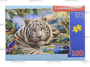 Пазл Castorland на 180 деталей «Тигр», В-018192, фото