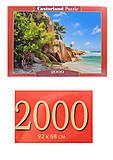 Пазлы Castorland 2000 «Райский пляж», С-200665