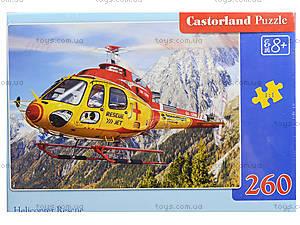 Пазл на 260 деталей «Спасательный вертолет», B-27248, фото
