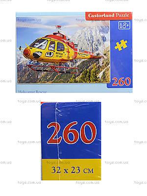 Пазл на 260 деталей «Спасательный вертолет», B-27248