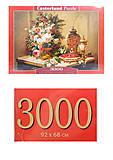 Кастор пазлы 3000 «Цветы. Живопись», C-300488, фото