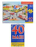 Пазл на 40 деталей Maxi «Перекресток», B-040063, купить