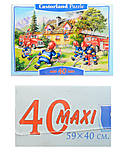 Пазл на 40 деталей Maxi «Пожарная бригада», B-040025, фото
