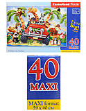 Пазл Castorland maxi на 40 деталей «На сафари», 131, фото