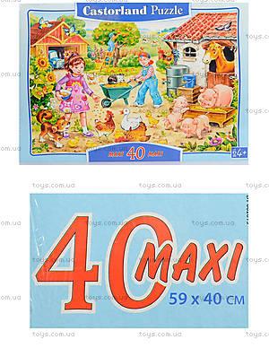 Пазл на 40 деталей Maxi «Ферма», B-040087