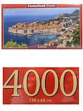 Пазлы Castorland 4000 «Дубровник. Хорватия», С-400225, купить