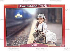 Пазл Castorland на 500 деталей «Девочка на перроне», В-52295, фото