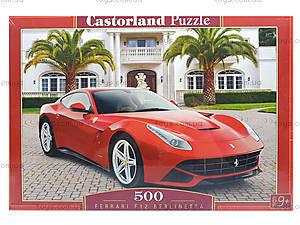 Пазл Castorland на 500 деталей «Ferrari», В-52080, фото