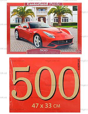 Пазл Castorland на 500 деталей «Ferrari», В-52080