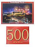 Пазлы Castorland 500 «Феерверк над замком», В-52721, купить