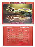 Пазл Castorland на 500 деталей «Крокодил», В-52318, фото