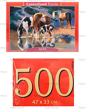 Пазл «Лошади у воды», В-52097