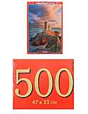 Пазл Castorland на 500 деталей «Маяк, Франция», В-52530, отзывы