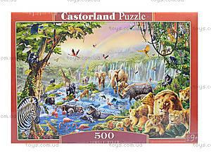 Пазл Castorland на 500 деталей «Джунгли», В-52141, фото