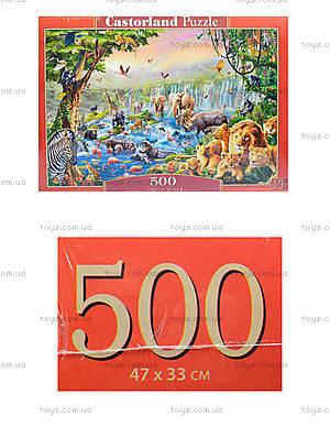 Пазл Castorland на 500 деталей «Джунгли», В-52141