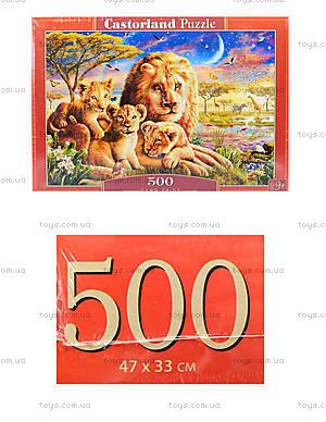 Пазл Castorland на 500 деталей «Прайд», 2134