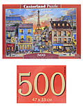 Пазлы Castorland 500 «Улицы Парижа», В-52684